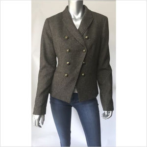Banana Republic Blazer Wool Tweed B